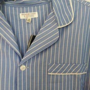 Roundtree & Yorke Big Man Pajama Top New